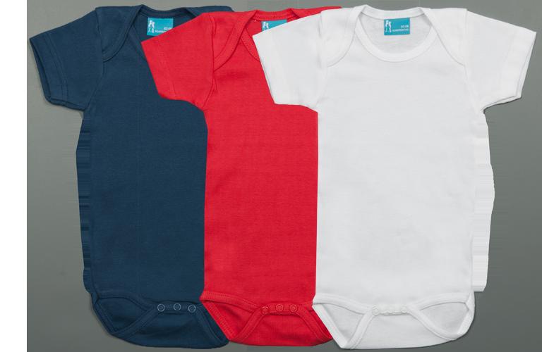 Sorprentas, Set 3 Rompertjes Kort blauw-rood-wit