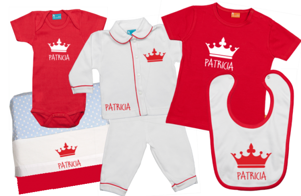 Baby Gift Set D: Crown