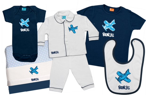 Baby Gift Set D: Airplane