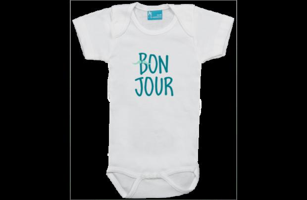 Body short sleeve: Bonjour