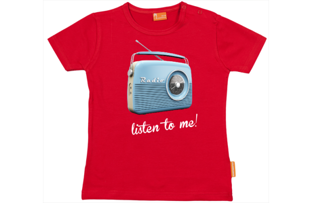 Baby t-shirt: Retro Radio