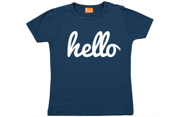 Baby t-shirt: Hello