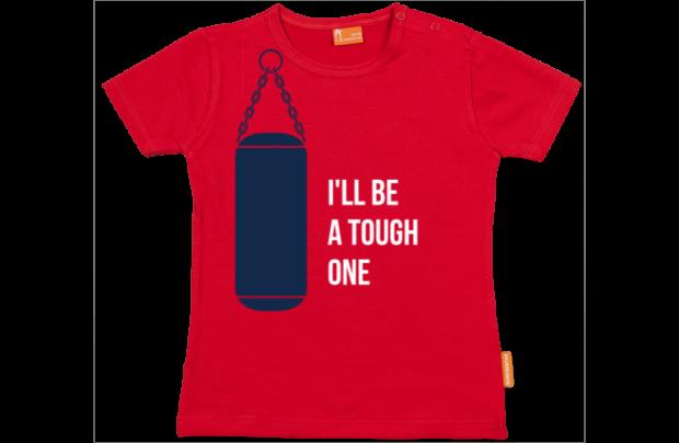 Baby t-shirt: I'll be a tough one
