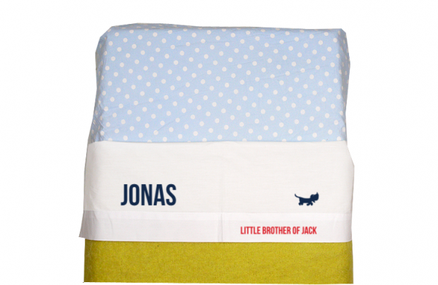 Sheet for baby cot (white): Little brother of