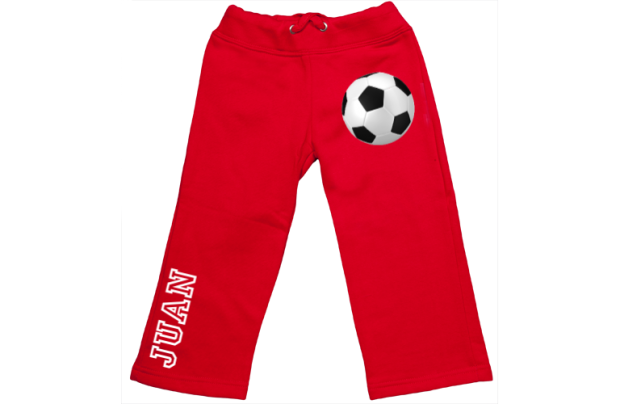 Sweatpants: Soccer ball