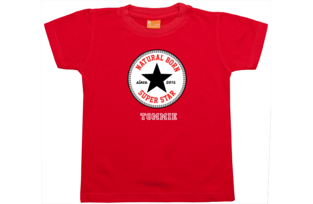 Boys t-shirt: Natural Born Superstar
