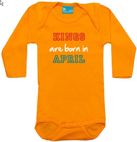PROMO: Kings are born in April