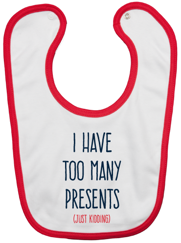 PROMO: BIB TOO MANY PRESENTS