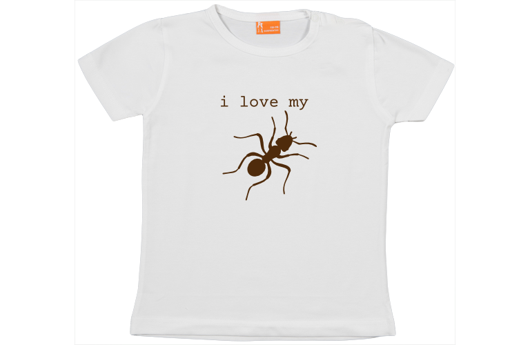 Personalise baby t shirts short sleeve create the best baby gift baby t shirt i love my aunt negle Choice Image