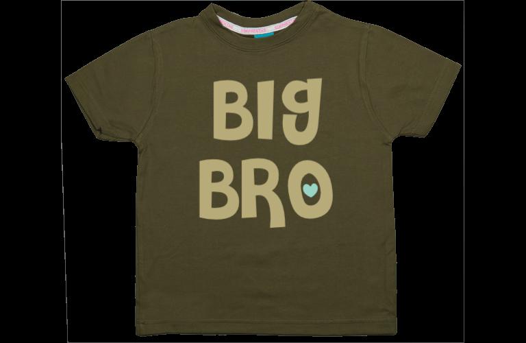 Personalised baby and kids wear sorprentas make it personal boys t shirt big bro negle Images