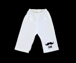 Baby pants: Mustache