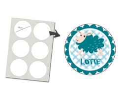 Stickers Round 6 items: Sheep