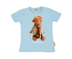 Baby t-shirt: Teddybear with hat