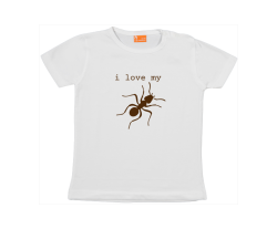 Baby t-shirt: I love my 'aunt'