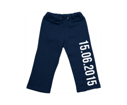 Sweatpants: Date of birth