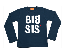 Girls t-shirt long: Big Sis