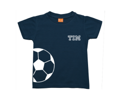 Boys t-shirt: Soccer ball Name