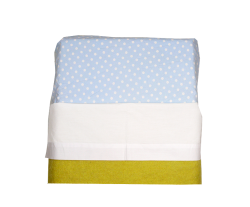 Sheet for baby cot (white)