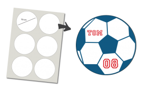 Stickers Round 6 items: Soccer