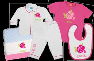 Baby Gift Set C: Rose