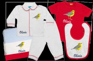 Baby Gift Set C: Bird