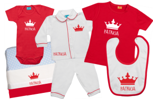 Baby Gift Set D: Crown