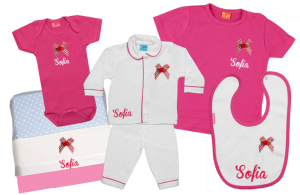 Baby Gift Set D: Bow
