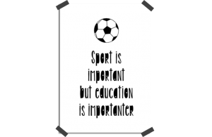 Poster: Education is importanter