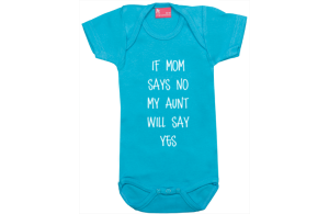 Body short sleeve: Aunt will say yes