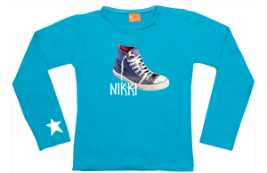 Girls t-shirt long: Sneaker