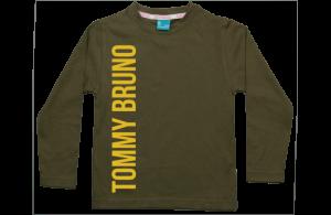 Boys t-shirt long: Name vertical