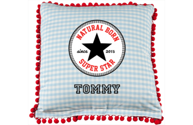 Cushion cover: allstar