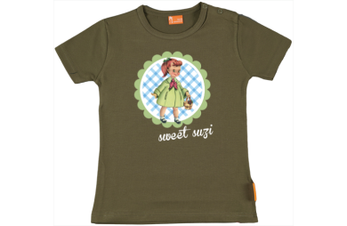 Baby t-shirt: Retro girl