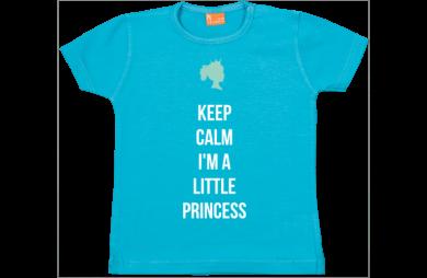 Baby t-shirt: Keep calm, I am a princess