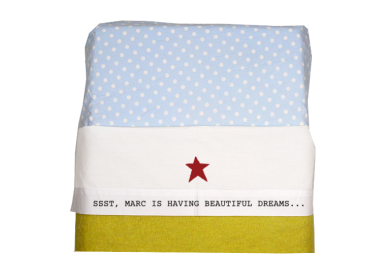 Sheet for baby cot: Star
