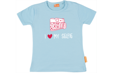 Girls t-shirt: I love my selphie