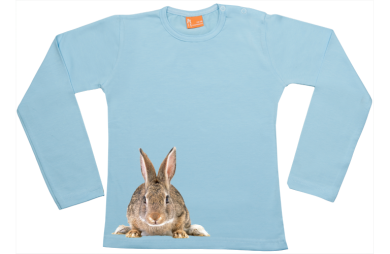 Girls t-shirt long: Bunny