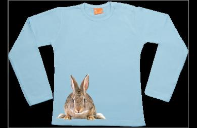 Girls t-shirt long: Bunny