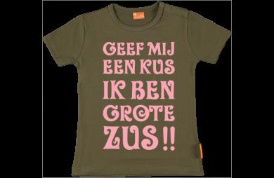 Girls t-shirt: J