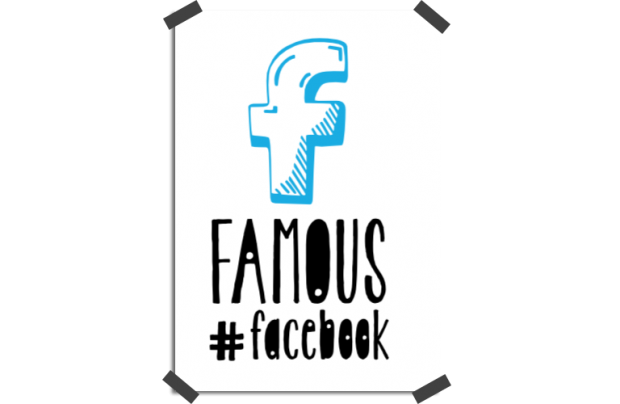 Póster: Famous on Facebook