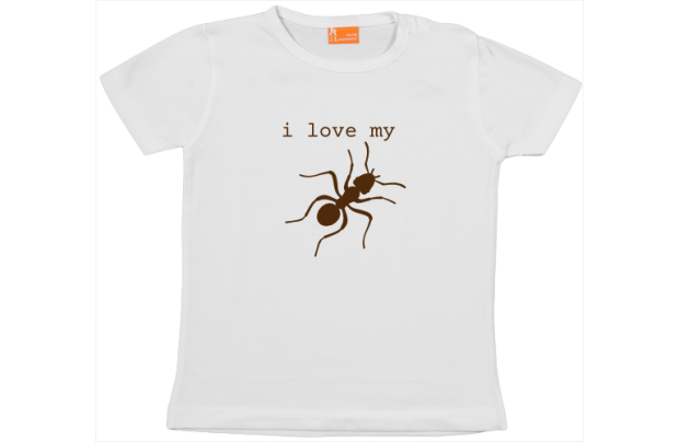 Camiseta Bebe: I love my 'aunt'