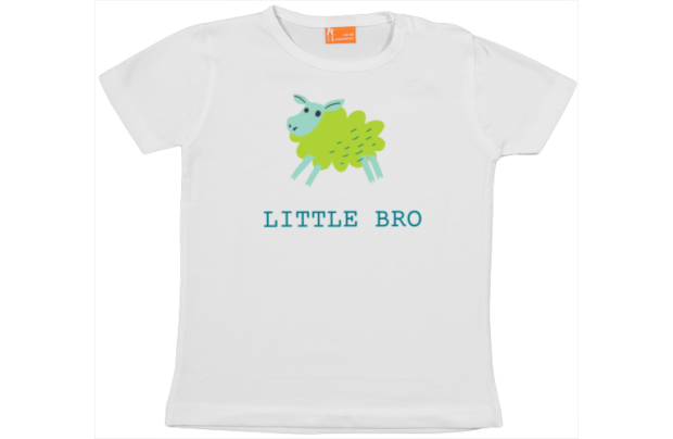 Camiseta Bebe: Little Bro
