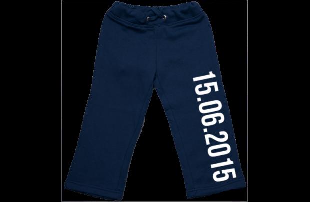 Pantalón de chandal: Fecha de nacimiento