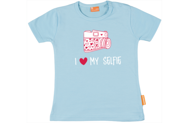 Camiseta Niña: I love my selphie