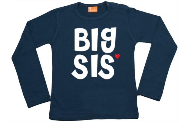 Niña camiseta manga larga: Big Sis