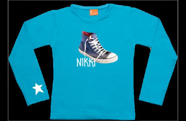 Niña camiseta manga larga: Zapatilla de deporte