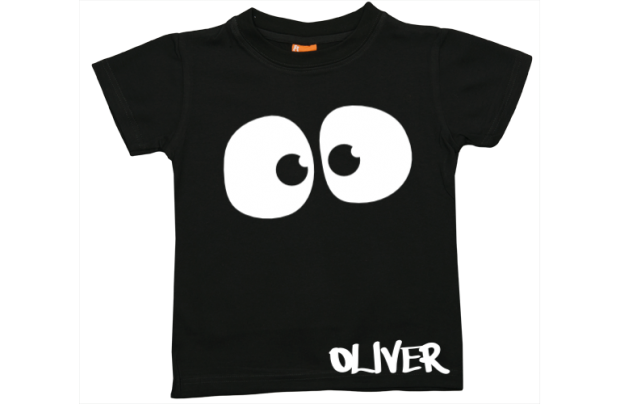 Camiseta niño manga corta: Ojos fantasmagóricos