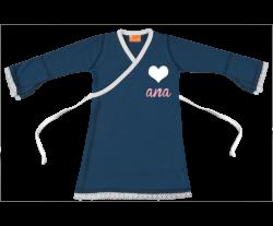 Vestido cruzado: Corazón