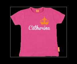 Camiseta Niña: Nombre y Corona