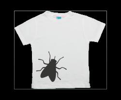 Camiseta niño manga corta: Mosca
